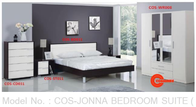 COS-JONNA BEDROOM SUITE (4PCS)